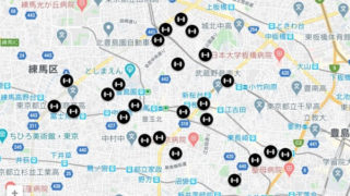筋トレ公園 MAP
